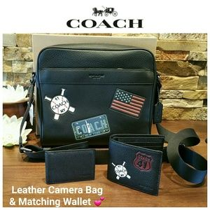 *SALE!!!* NEW Coach Charles Messenger Bag & Wallet